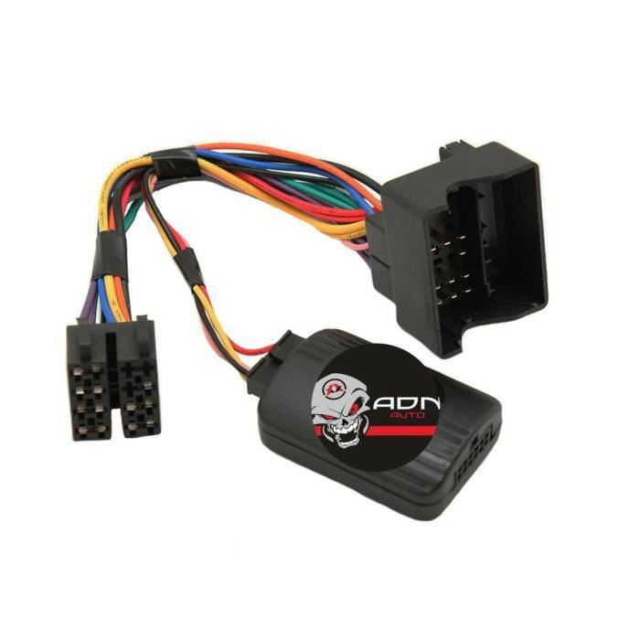 Interface Cde au Volant Citroen/ Fiat/ Toyota Fakra sans radars recul - ADNAuto - ADN-CAV Boitier seul