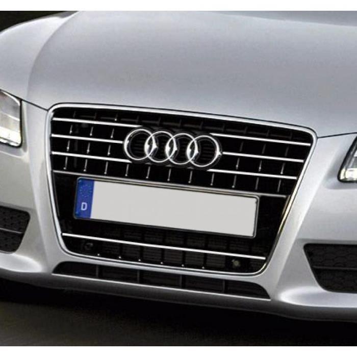 Baguette de calandre chromée Audi A5 Cabriolet 09-11 Audi A5 Coupé 07-11 Audi A5 Sportback 09-11