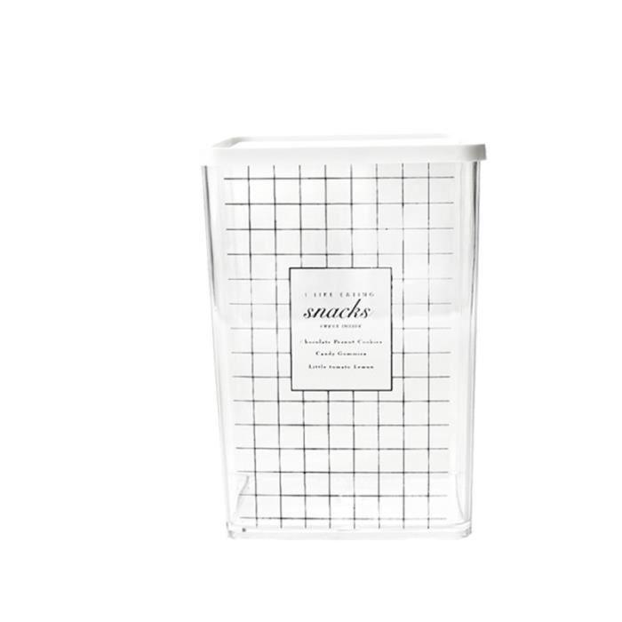 Boîte hermétique de conservation de rangement de cuisine de en plastique de créative (style ENSEMBLE USTENSILES - LOT USTENSILES
