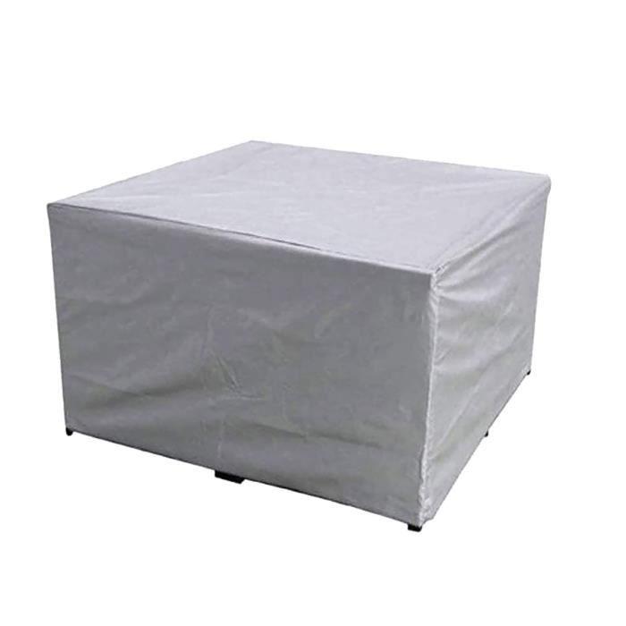 Bâche Imperméable De Stockage D'Hiver De Meubles De Jardin Extérieurs De Couverture De Table De Jardin La916