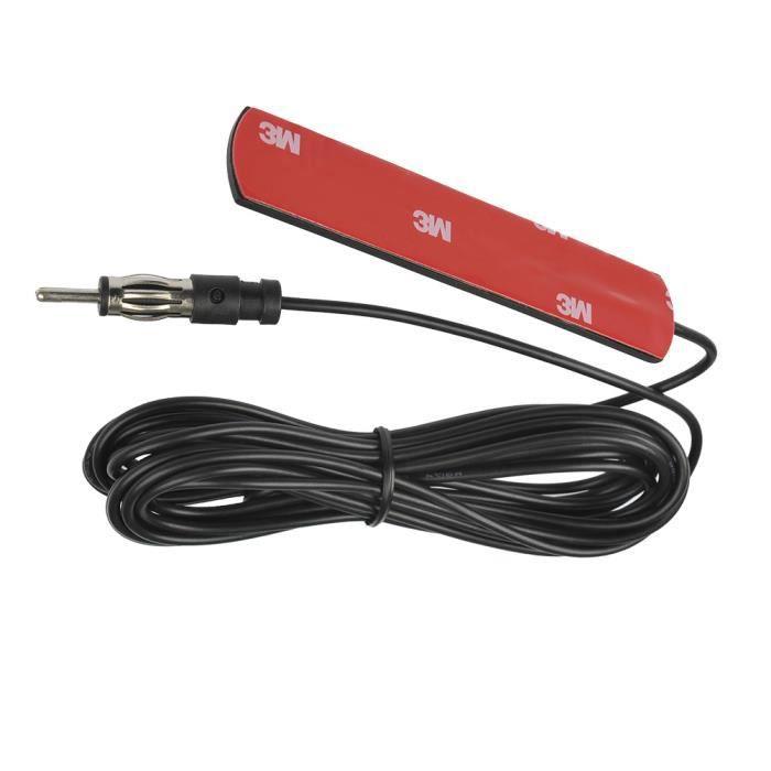 Universal Voiture d'Antenne Radio FM, Antenne Autoradio, Antenne Cachée de Voiture GSM avec 5M SMA Câble de Connecteur d'Antenne