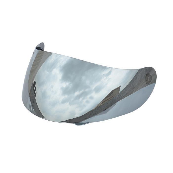 Remplacement de la visière de l'objectif des casques de protection contre le vent anti-rayures anti-UV de moto pour K3/K4 ARGENTE