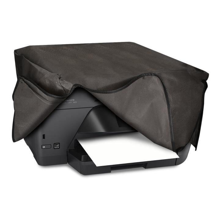 kwmobile Housse Hp Officejet Pro 6000series Housse de protection pour imprimante Hp Officejet Pro 6000series Étui gris foncé