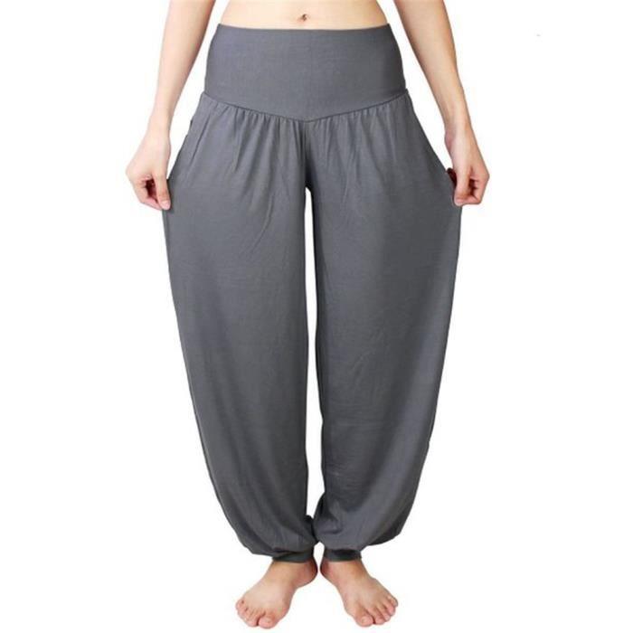 Femme Fille Pantalon de Jogging Yoga Hip-Hop Pantalon de Sport