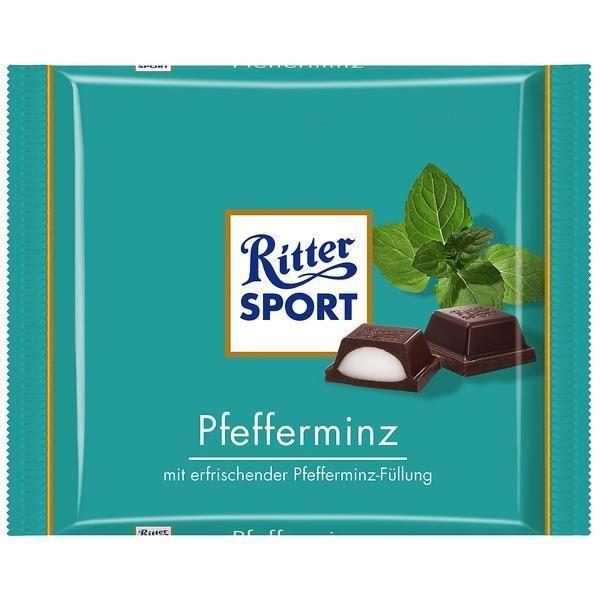 Ritter Sport menthe poivrée 5 x 100g