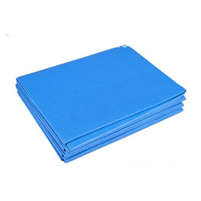 Tapis de Yoga Pliable en PVC Tapis D'Exercice ÉPais AntidéRapant Pliant Gym Tapis de Fitness Pilates Fournitures Tapis de Jeu au