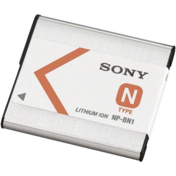 Batterie pour appareil photo Sony NP-BN1 3.6 V 630 mAh