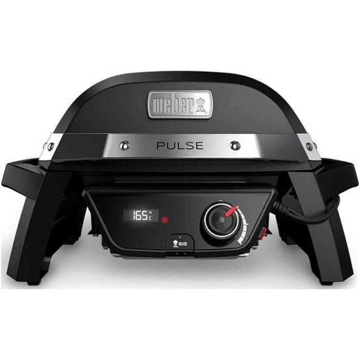 WEBER Barbecue électrique Pulse 1000 - Noir