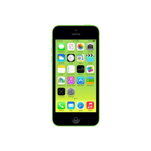 vente flash iphone 5c 16 go vert reconditionne a neuf. Black Bedroom Furniture Sets. Home Design Ideas