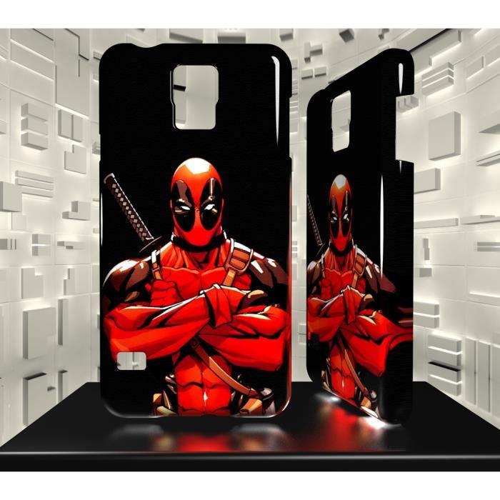 Coque Samsung Galaxy S5 Mini Deadpool 01 - Achat coque - bumper ...