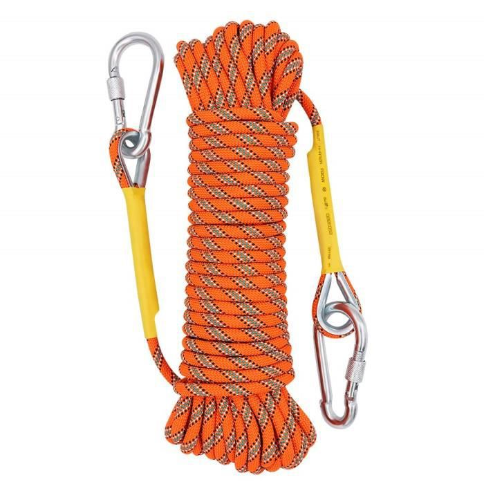 Fall Protection Corde Escalade Descente Protector En Nylon Extérieur Accessoire