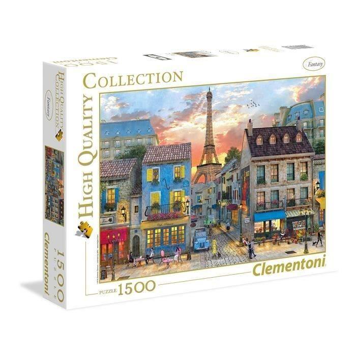 PUZZLE PUZZLE 1500 pièces - Rues de Paris - 59 X 84 cm