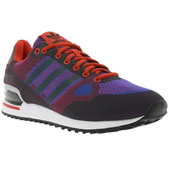 Adidas Chaussures de SportZx 750 Wv Rouge