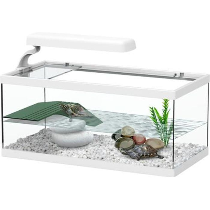 aqua tortum 40 blanc achat vente vivarium terrarium aqua tortum 40 blanc cdiscount. Black Bedroom Furniture Sets. Home Design Ideas