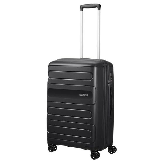 American Tourister Sunside Spinner 68 Extensible, 3.7 KG, 72.5 83.5L, Noir (Black)