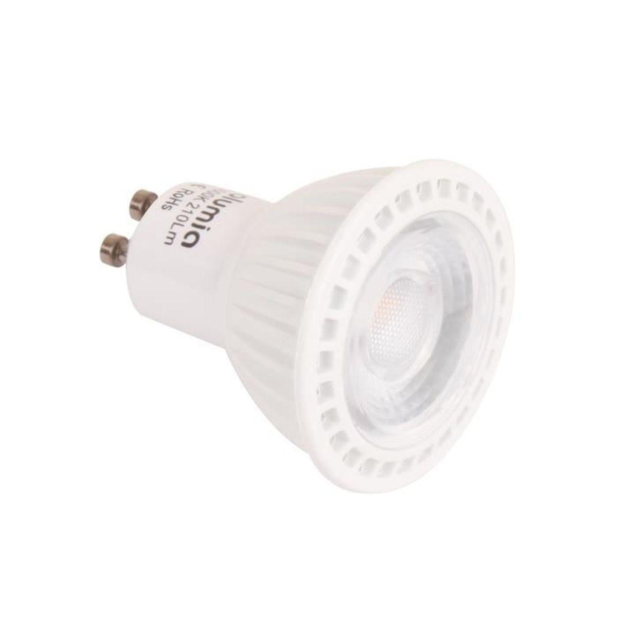 AMPOULE - LED Ampoule LED Spot GU10 3W - 3000K Blanc Chaud - Equ