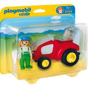 UNIVERS MINIATURE PLAYMOBIL 6794  Agricultrice avec Tracteur