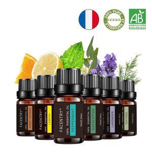 BAIN MOUSSANT - HUILE Huiles Essentielles Aromathérapie, 6X 10ml 100% Pu