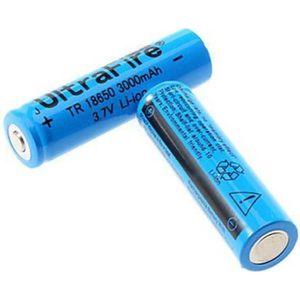 CHARGEUR DE PILES 2pcs 18650 3000mAh 3.7V Li-ion batterie rechargeab