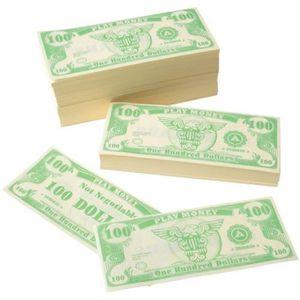 DOCTEUR - VÉTÉRINAIRE Docteur T87Q0 US Jouet argent 100 Dollar Bill (100