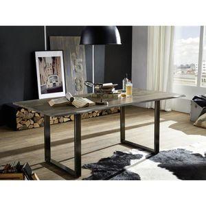 TABLE À MANGER SEULE Table à manger 200x100cm – Bois massif de palissan