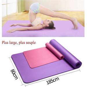 TAPIS DE SOL FITNESS 185*80cm Tapis de yoga Large Tapis de Sol Gym Soup