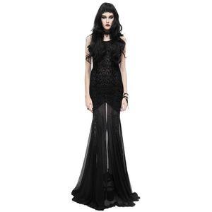 Robe Longue Transparente Noire Achat Vente Pas Cher