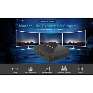 UNITÉ CENTRALE  Mini PC-MINISFORUM U500 -Unité Central - Intel Cor