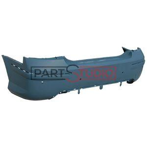 RGM arrière noir protection pare-chocs pour Peugeot 407 SW//Break àpd 2009