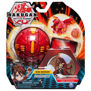 FIGURINE - PERSONNAGE PACK 1 BAKUGAN DEKA - Dragonoid +  1 BakuCore, 1 c