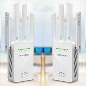 REPETEUR DE SIGNAL Antenne Pix-Link300M4 Amplificateur de signal WIFI