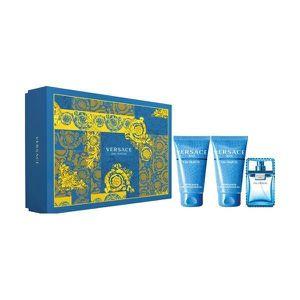 COFFRET CADEAU PARFUM Set de Parfum Homme Eau Fraîche Versace (3 pcs)