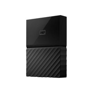 DISQUE DUR EXTERNE WESTERN DIGITAL My Passport - 2To - Noir