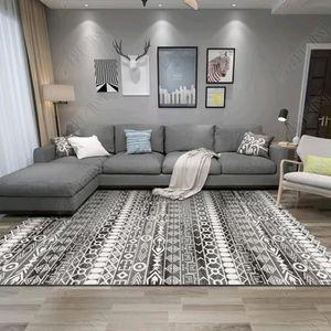 TAPIS tapis salon 100*200cm grand tapis berbere géométri