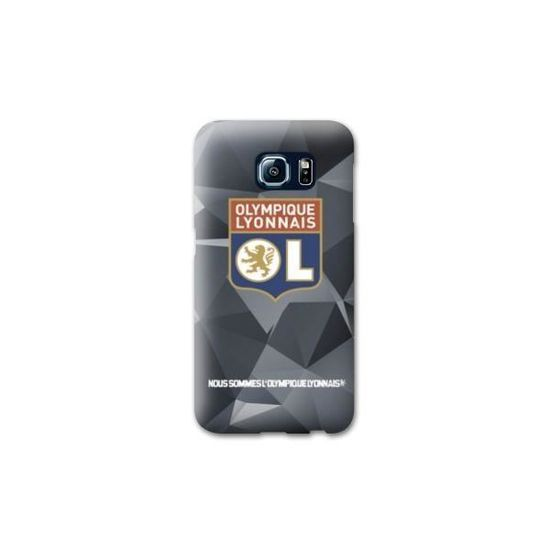 Coque Samsung Galaxy S7 Edge License Olympique Lyonnais OL - Hexa ...