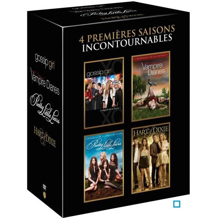 dvd coffret teenage tv series dvd en dvd s rie pas cher. Black Bedroom Furniture Sets. Home Design Ideas
