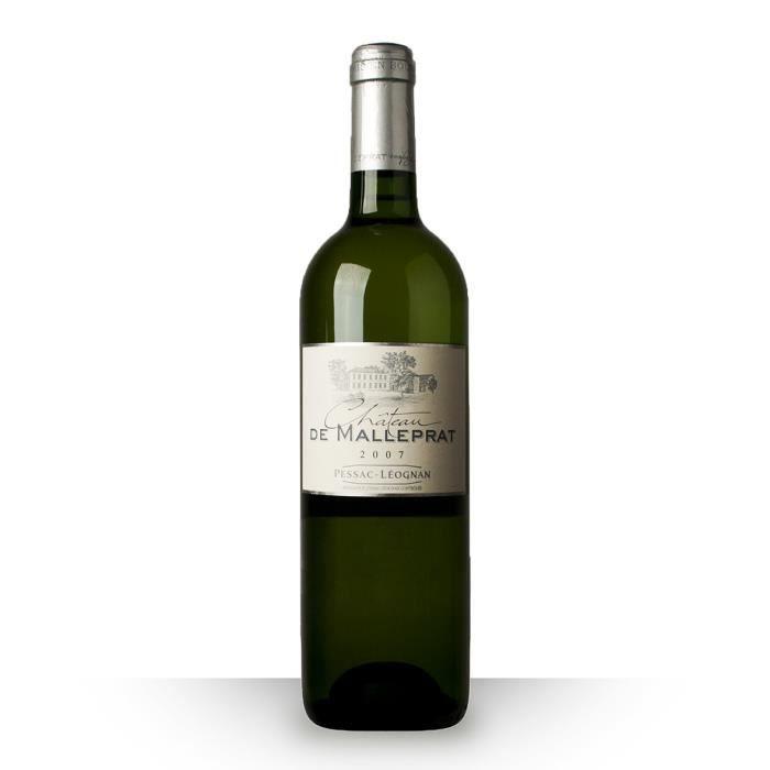 Château Malleprat 2007 Blanc 75cl AOC Pessac-Léognan - Vin Blanc