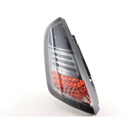 Paire de feux arriere Fiat Grande Punto de 2005 a 2018 LED Noir D-FKRLXLFI203