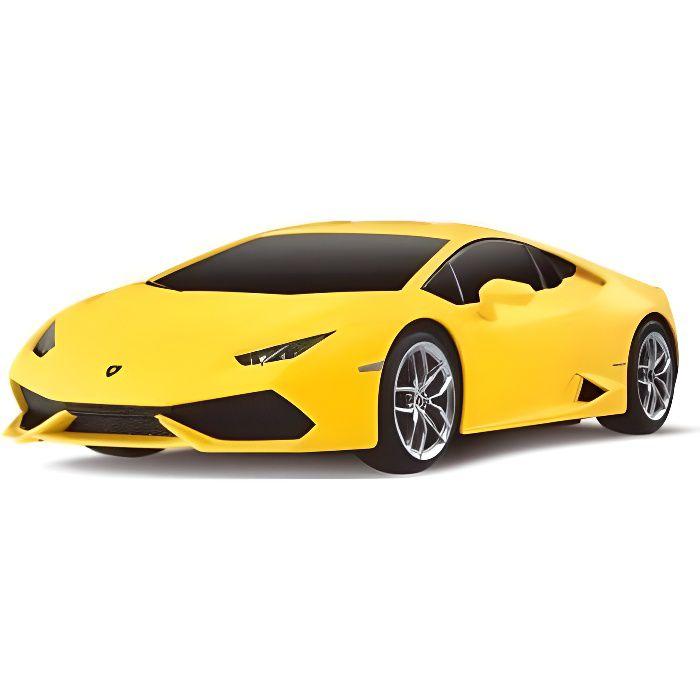 Superbe Voiture RC Lamborghini Huracan LP610-4 jaune 1:24