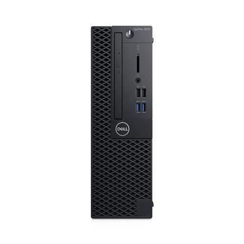 Dell Ordinateur de bureau Optiplex 3000 3070 Core i5 i5 9500 8 Go Ram 128 Go Ssd Noir Windows 10 Pro