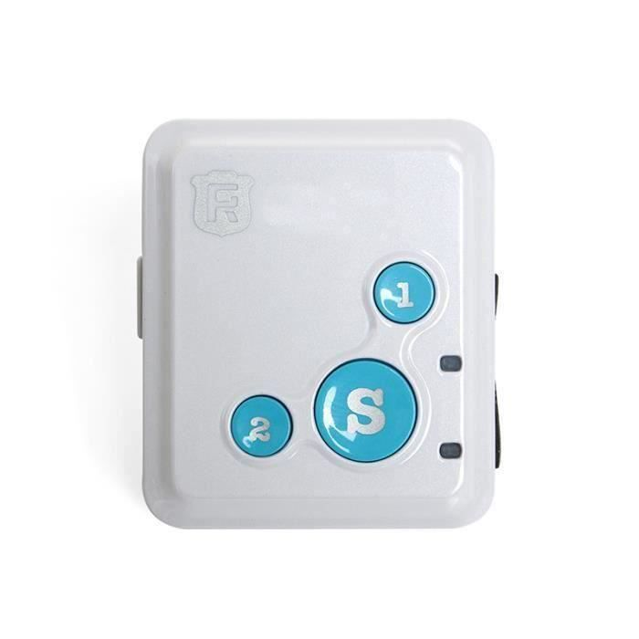 REACHFAR RF-V16 Mini GSM GPRS GPS Tracker SOS Communicator Bleu
