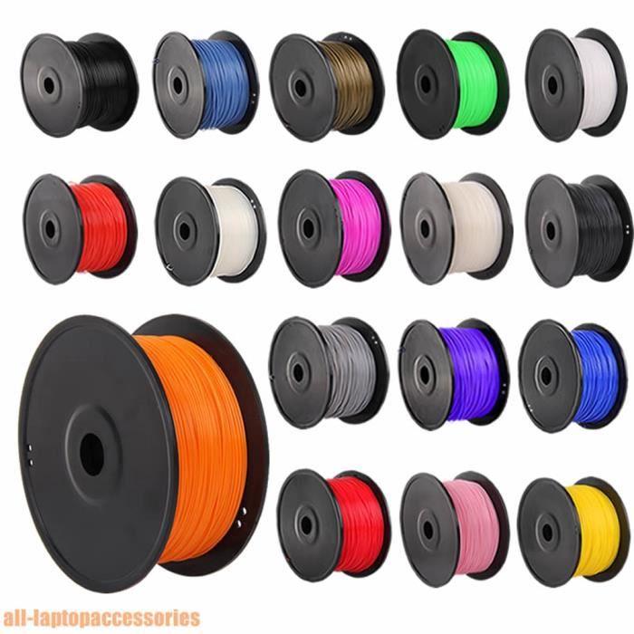 ABS-imprimante 3D Filament Pour Repraper 1KG Rouleau Longueur 10M échantillon 3.00mm