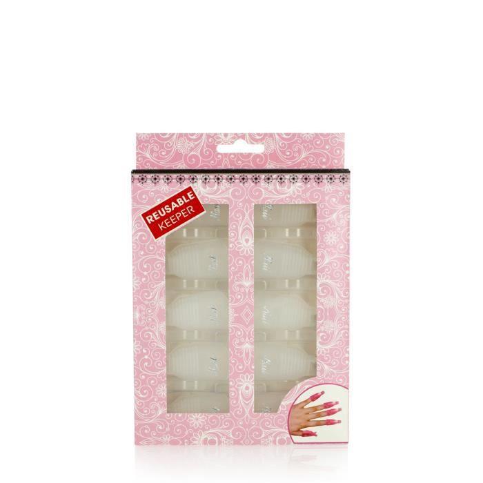 Remover et tips off - Pince de dépose pour ongles x10 - Beautélive