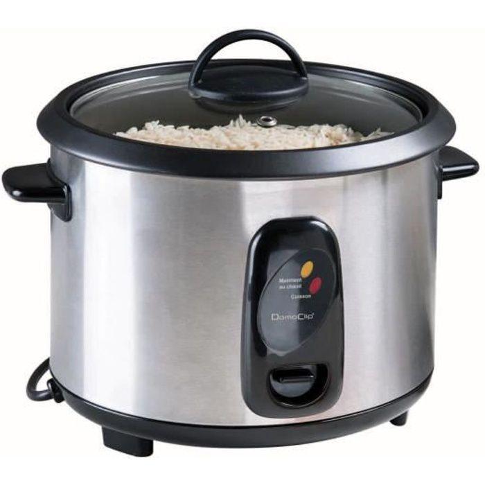 LIVOO DOC192 Cuiseur à riz - Noir/Gris