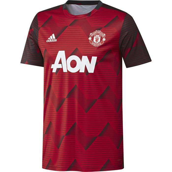 Maillot pré-match domicile Manchester United 2019/20