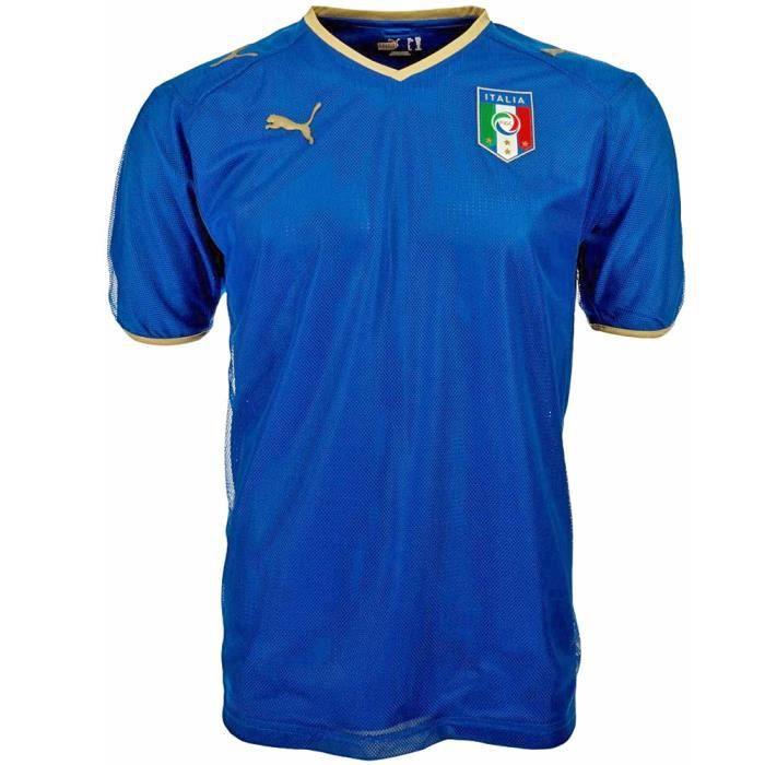 Maillot enfant ITALIE domicile bleu Kids Home shirt replica
