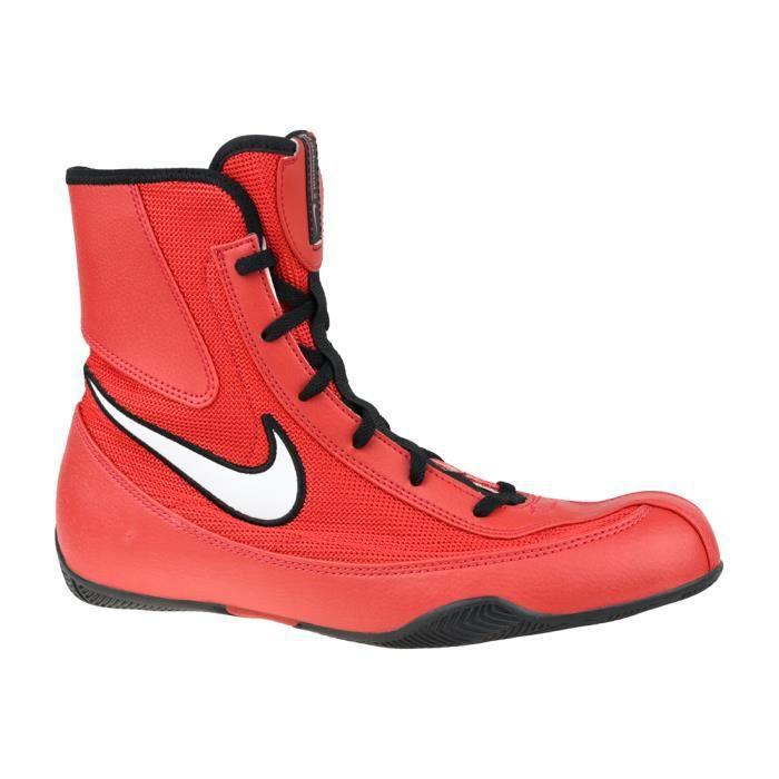 Nike Machomai 321819-610, Homme, rouge, chaussures d'entraĂ®nement