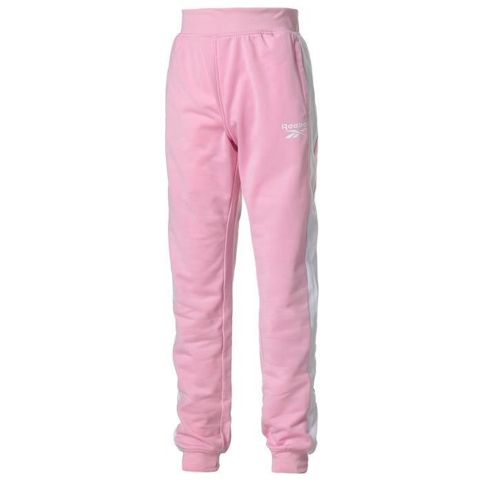 Pantalon de Jogging REEBOK Fille - Rose
