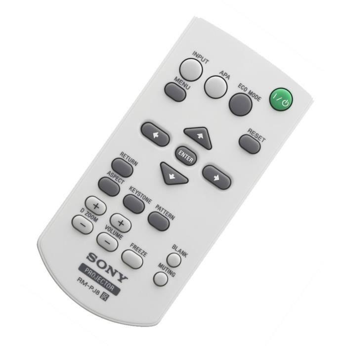 Télécommande Remote Commander (RM-PJ8)