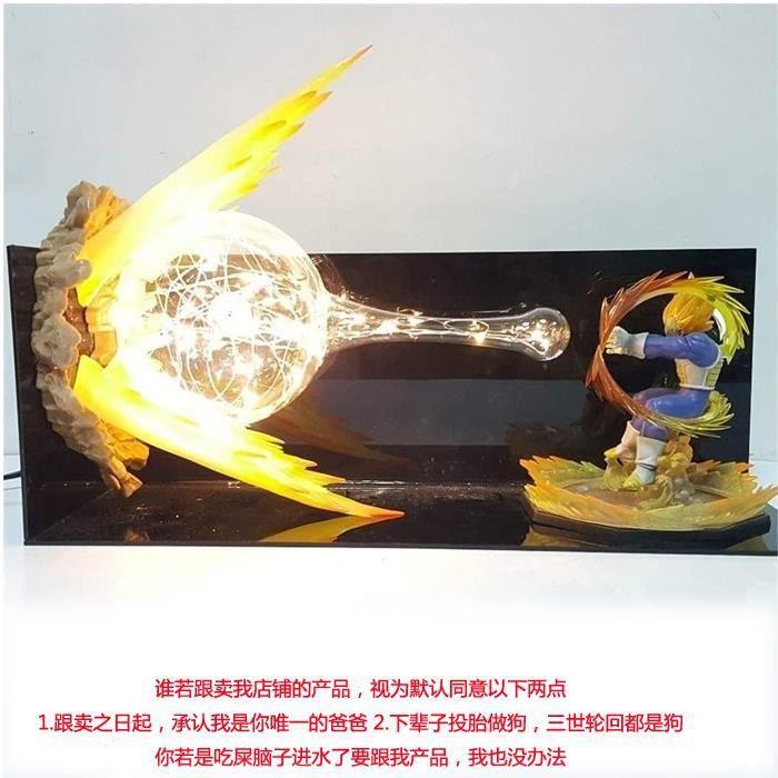 Dragon Ball Z Vegeta Flash final Led Night Lights Lampe de bureau Dragon Ball Super Vegeta Led éclairage Lampara Dragon Ball